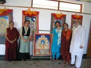 Visit of Mrs Rinchen Khandro Choegyal, Dr Meenakshi Gopinath and Mr. Rajiv Mehrotra